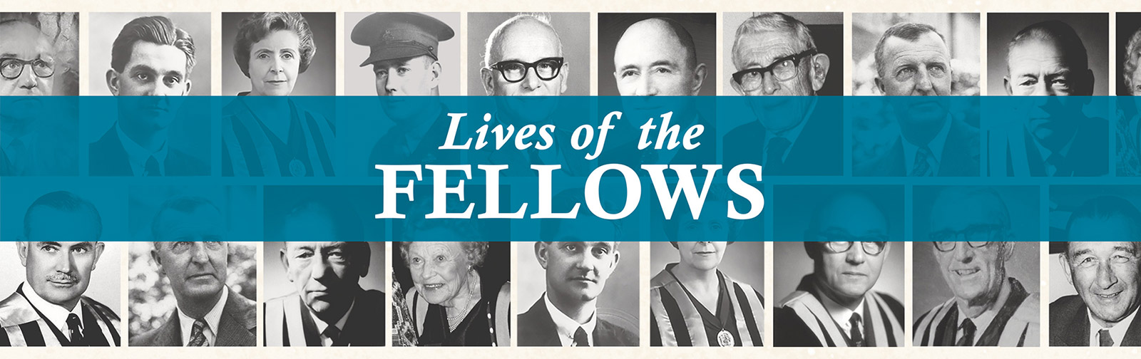 Lives of the Fellows Online Exhibition